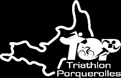 Logo triathlon de porquerolles